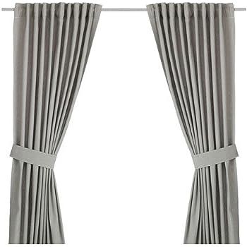 Ikea Vorhang amazon de ikea vorhang set ingert zwei blickdichte gardinen mit