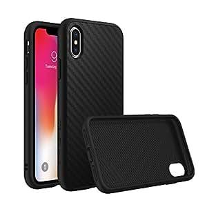 Rhino Shield iPhone X Case [SolidSuit]   Schock Absorbierende Schutzhülle mit Premium Matt Finish [3,5 Meter Fallschutz] - Carbon Fiber