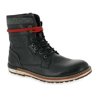 Kaporal Shoes Kentown - Chaussures en cuir - noir