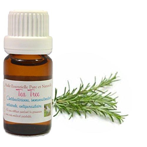 Teebaum Öl, 100% ätherisches Teebaumöl, 10 ml, Melaleuca alternifolia -