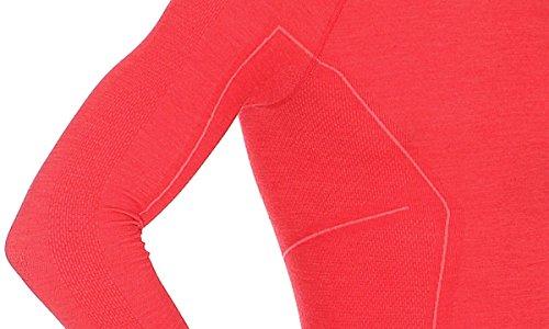 41JUAennIrL - Brubeck Functional Long Sleve Shirt For Men, LS12820, Active Wool
