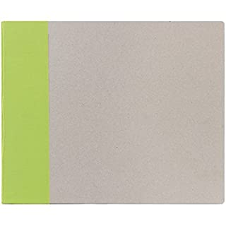 American Crafts 12 x 12-inch Modern D-Ring Album, Key Lime