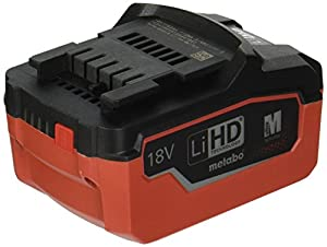 Metabo 625341000 18 V 6.2 A LIHD Battery Pack - Green