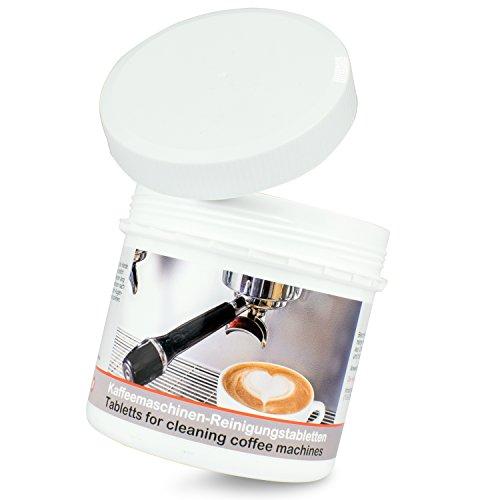 200er Pack Reinigungstabletten für Kaffeevollautomaten und Kaffeemaschinen MADE IN GERMANY - Kompatibel mit Melitta, Jura, DeLonghi, Saeco, Krups u. Co.