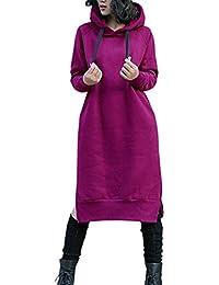 NUTEXROL Sudadera con Capucha Suéter Hoodies Pullover Outwear Encapuchado Tops De Manga Larga para Otoño e Invierno para Mujer,…