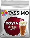 TASSIMO COSTA CARAMEL LATTE x PACK OF 2 (16 SERVINGS)