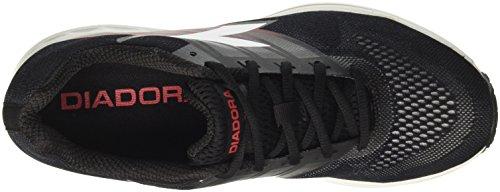Diadora Action +2, Scarpe da Corsa Uomo Nero (Nero/Bianco)