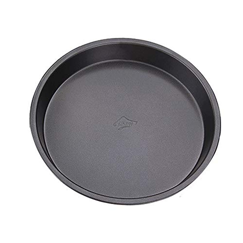 Xiton Carbon Steel Pizza Dish 6 Inches Non-Stick Deep Dish Pizza Pan Tart Round Tray Pans Pizza und Cheesecake Pan 1pc Beste Pizza Pan