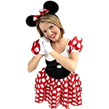 erdbeerloft – Mujer Minnie Mouse Ratón Disfraz, ...