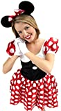 erdbeerloft – Femme Minnie Mouse Souris Costume, S de l Multicolore -  Multicolore - Large