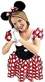 erdbeerloft–Femme Minnie Mouse Souris Costume, S de l Multicolore -  Multicolore - Large