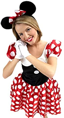 Minnie Mouse Costume Tutu - erdbeerloft – Femme Minnie Mouse Souris Costume, S de