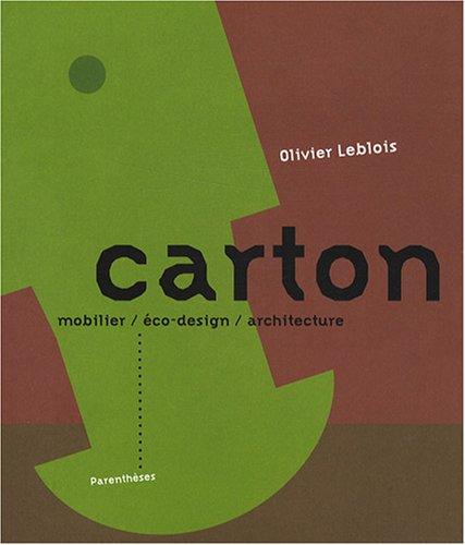 Carton : Mobilier, éco-design, architecture