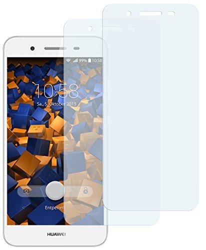 mumbi Schutzfolie kompatibel mit Huawei GR3 Folie klar, Bildschirmschutzfolie (2x)