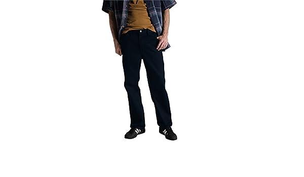 33W x 34L Dickies Regular Fit 5-Pocket Staydark Jeans Dark Navy