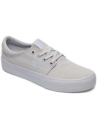 DC Shoes Trase Tx, Baskets mode femme Gris - Grey/Grey/Grey