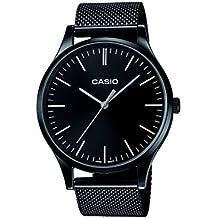 Casio Reloj Analogico para Unisex de Cuarzo con Correa en Acero Inoxidable LTP-E140B-