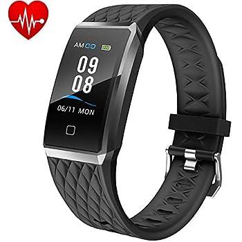Willful Montre Connectée Femmes Homme Smartwatch Bracelet Connecté Podometre Enfant Cardio Etanche IP68 Sport Smart Watch