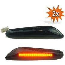 LED Intermitentes laterales para negro Smoked
