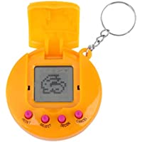 Fdit Children Baby Electronic Toys Virtual Digital Retro Pet Handheld Game Machine (Yellow) - Compare prices on radiocontrollers.eu