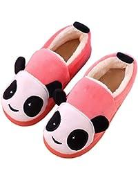 Pantofole Pantofole Peluche it per Scarpe Rosso Amazon 0wqfg5F