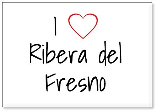 Mundus Souvenirs - Amo Ribera del Fresno, Imán para Nevera (diseño 3)