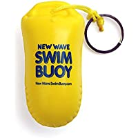 New Wave Floating Key Chain Buoyant Camera Float for Open Water Swimmers and Triathletes by Swim Buoy