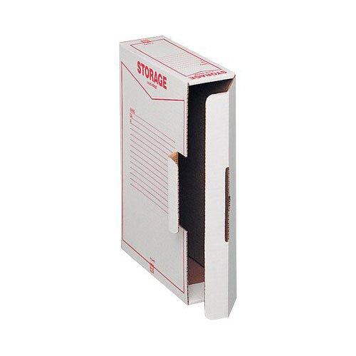 King mec 00160200 scatole archivio storage, 9 x 37 x 26 cm, confezione 32
