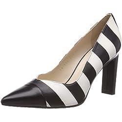 lodi SILVO-RI, Zapatos de tacón con Punta Cerrada para Mujer, Glove Negro, 38 EU