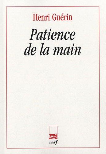 Patience de la main par Henri Guérin