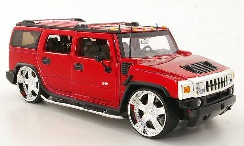 hummer-h2-tuning-rot-modellauto-fertigmodell-jada-124
