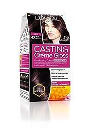 Loreal Paris Casting Cream Gloss Conditioning Colour (Burgundy 316)