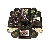 Tumao Caja de Regalo Creative Explosion Love Memory DIY Álbum de Fotos cumpleaños, una Sorpresa Sobre el Amor, Abierto con 14''14''4.7 '', Negro.