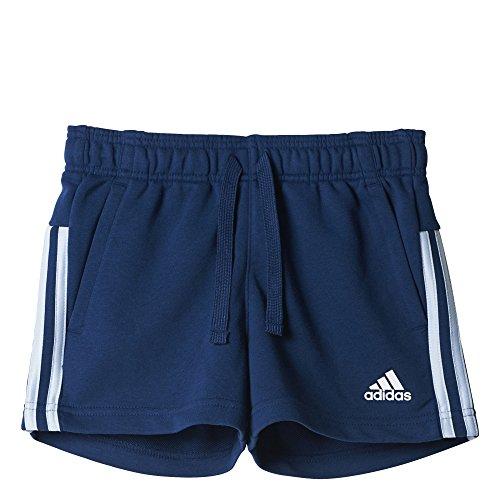 adidas Yg 3s Shorts für Mädchen, Yg 3S, blau (Azumis/Azusen)