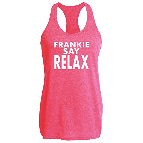 Frankie Say Relax Classic 80s Tank Top. Choice of Colours - S to XXL