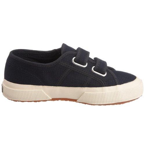 Superga 2750 Jvel Classic, Sneakers Basses mixte enfant Bleu (Navy)