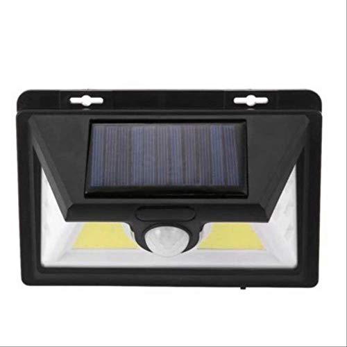 1 Pcs Solar Lights 52 Led Wall Solar Light Outdoor Security Lighting Nightlight Waterproof Ip65 Motion Sensor Detector -