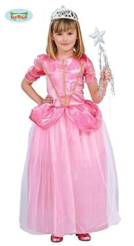 rosa Märchen Prinzessin - Kostüm für Mädchen Gr. 110 - 146, Größe:128/134 (Karnevals-kostüm-ideen Für Mädchen)