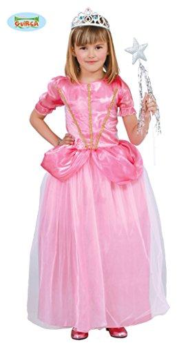 rosa Märchen Prinzessin - Kostüm für Mädchen Gr. 110 - 146, Größe:140/146