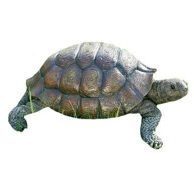 Turtle figure, Turtle - Resin figure, approx. 34 cm x 25 cm x 14 cm