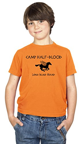 Daytripper Clothing Jungen T-Shirt Orange Orange Medium