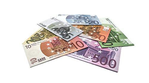 7 x 10 EURO Cashbricks® dinero de juguete (EURO SET)