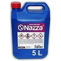 Disolvente Clorocaucho Nazza | Para Resinas y Esmaltes Sintéticos | Envase de Plástico de 5 Litros