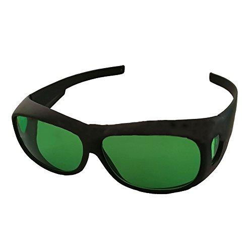Indoor LED wachsen helle Raum-Gläser Anti-UV- und Rotlicht-Schutzbrille gegen UV, IR Strahlen, LED wachsen Lichter Gläser für Indoor Gardens Goggles