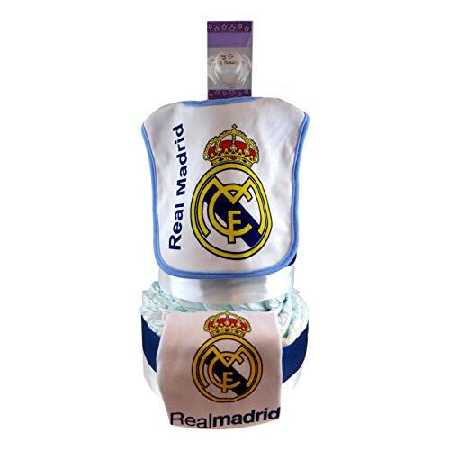 Tarta de pañales Real Madrid