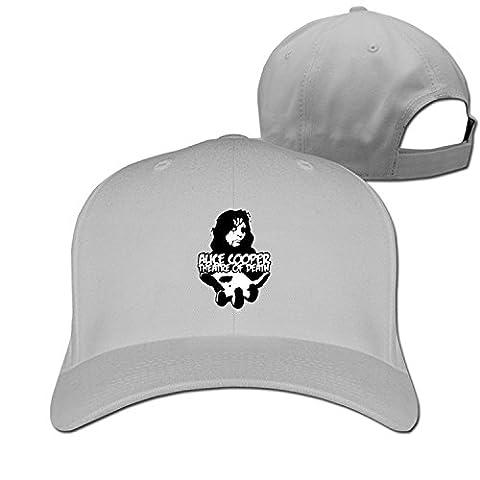 Fitty area Alice Cooper Singer Poster From The Inside Custom Ball Caps For Men Ash