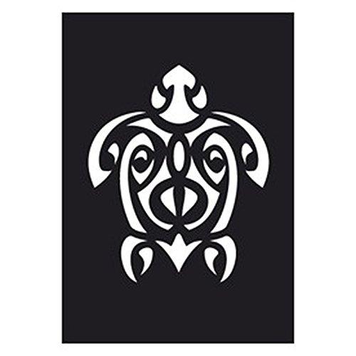 Creartec Tattoo Schablone Maori Schildkröte 263 024 -