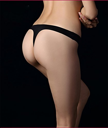 VOKAMARA Damen Taillenslip Gr. 36, Black-3 Packs - 3