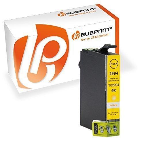 Bubprint Druckerpatrone kompatibel für T2991 XL T2991XL T2994 29 29XL Epson Expression Home XP 342 XP-245 Tinte Gelb