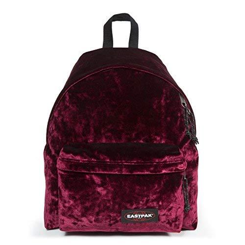 Eastpak Padded Pak'R Women's Backpack EK620 83T Burgundy Velvet CRUSHED MERLOT